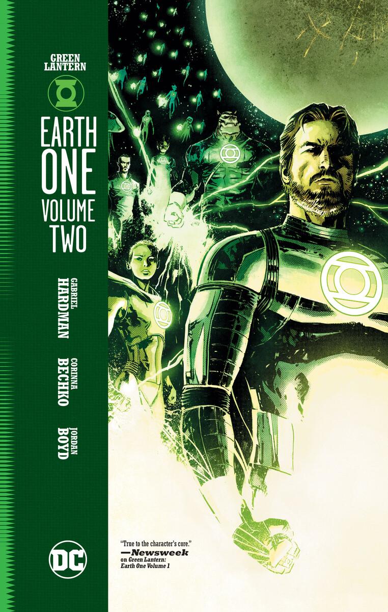 Green Lantern Earth One Volume Two DC Comics