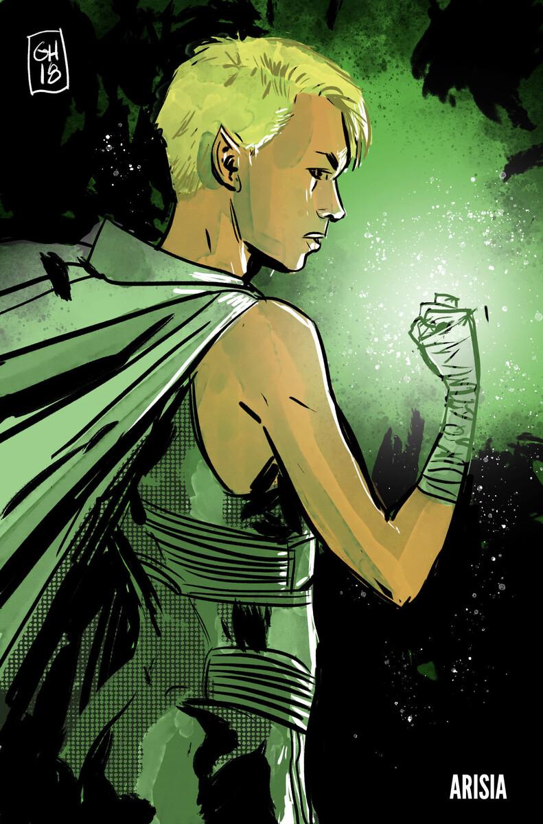 Green Lantern Earth One Vol. Two Arisia