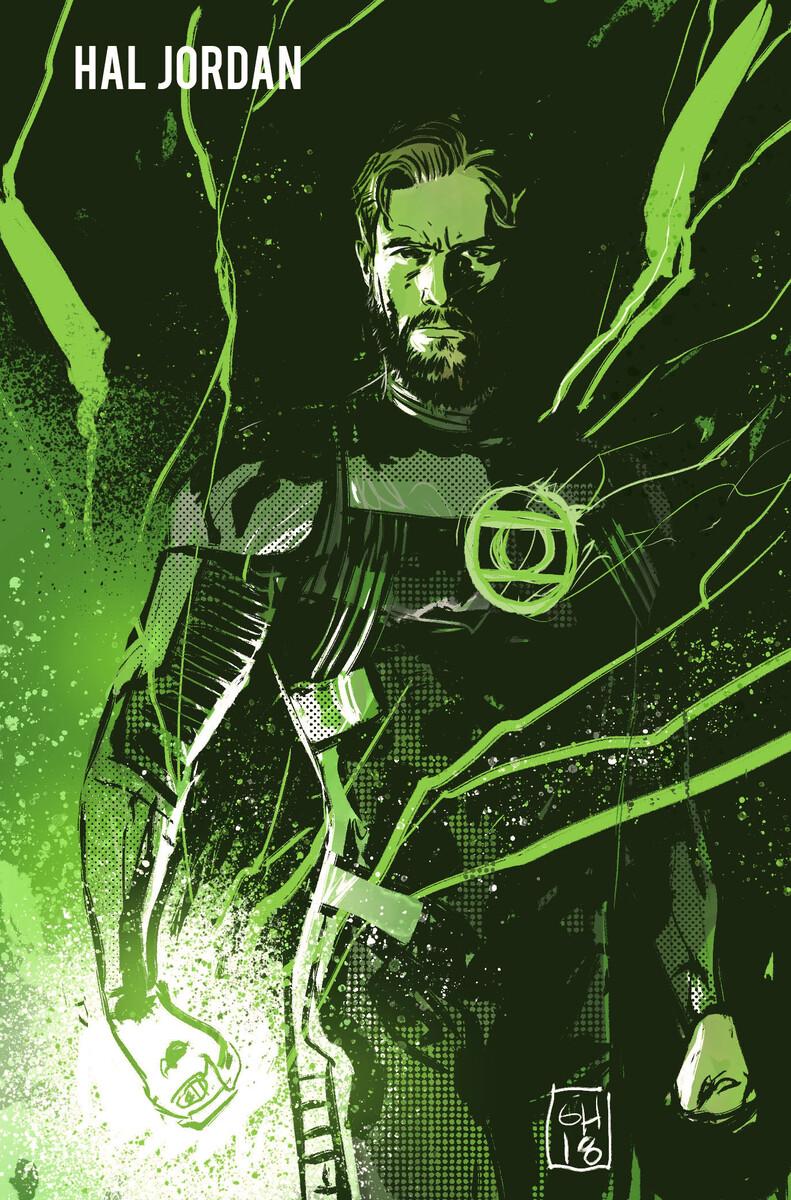 Green Lantern Earth One Vol. Two Hal Jordan