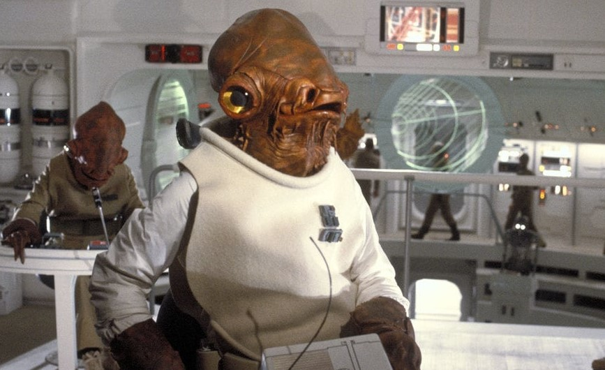 Admiral Ackbar Star Wars