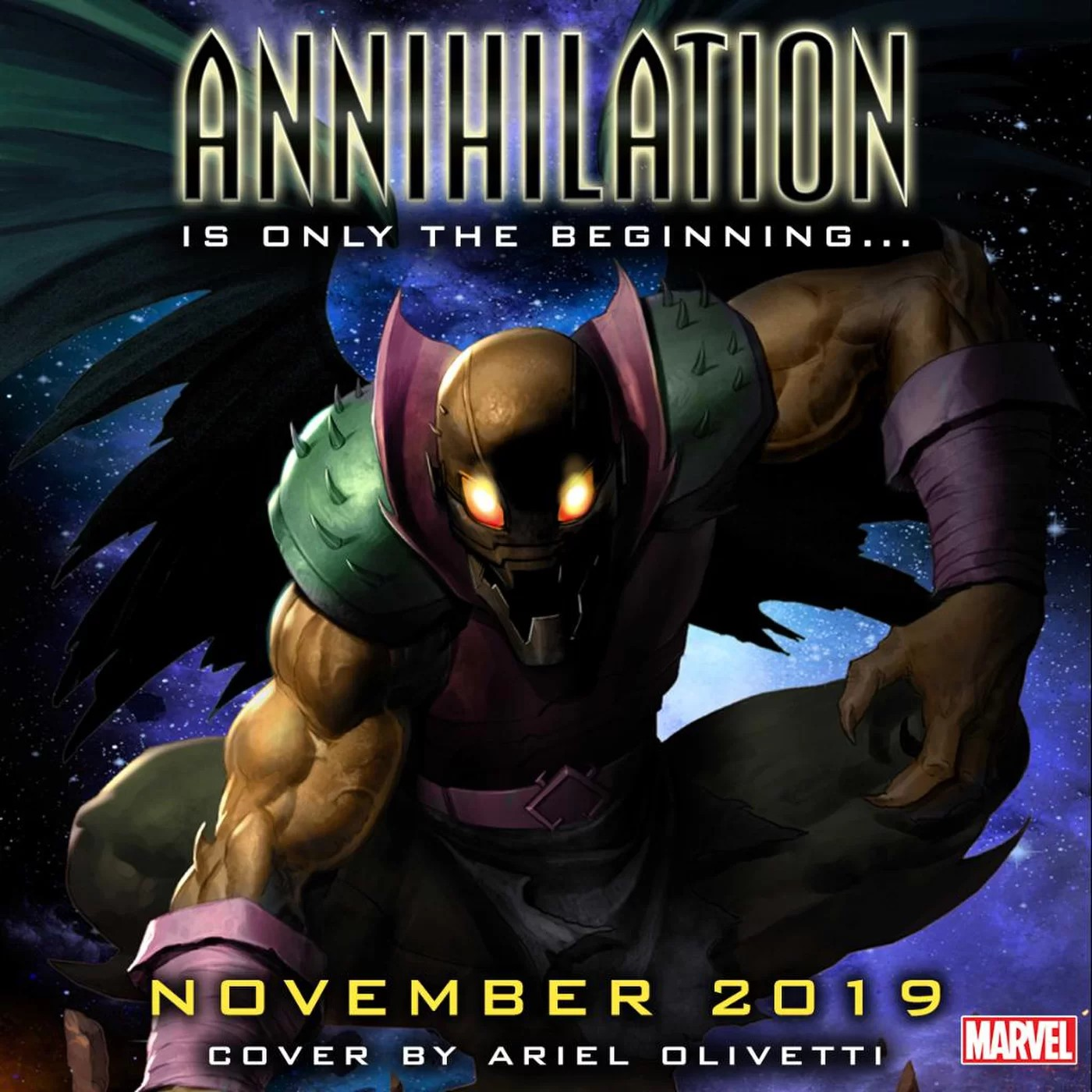 Marvel Comics Annihilation Agenda