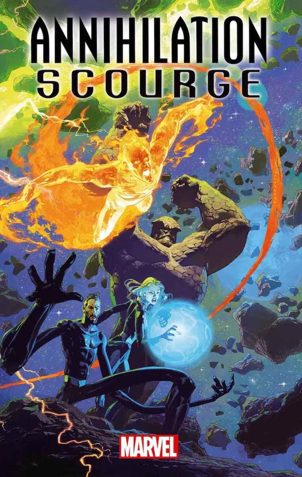 Annihilation Scourge Fantastic Four