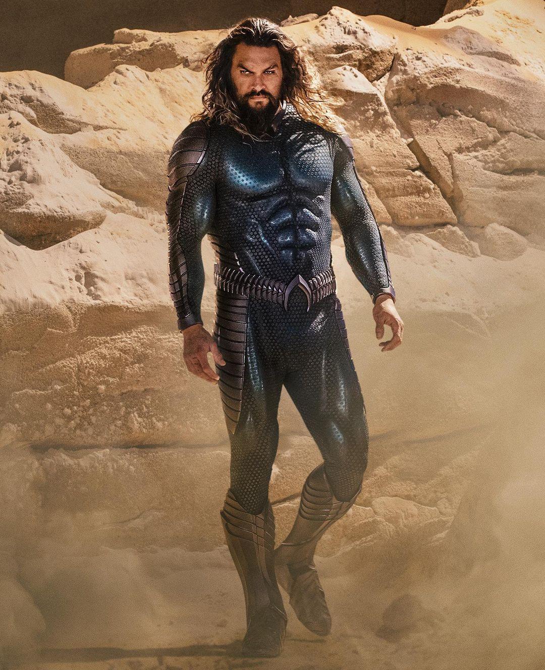Aquaman 2 Jason Momoa Stealth Suit