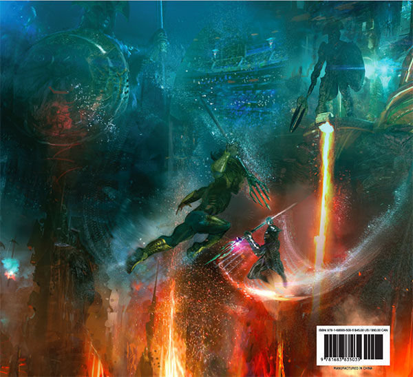 The Art and Making of Aquaman book