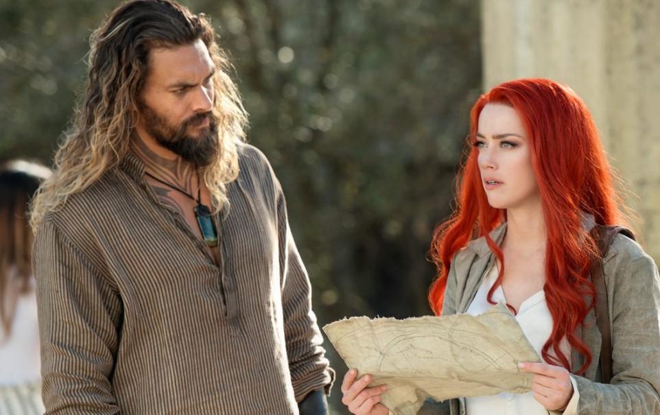 Amber Heard and Jason Momoa Mera Aquaman