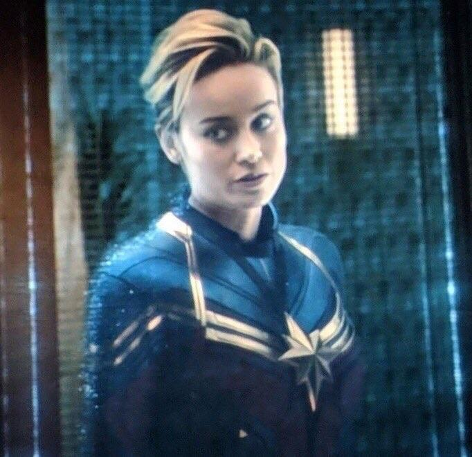 Brie Larson Avengers Endgame Costume Is Mar Vell S From Comics Cosmic Book News Endgame costume redesign initially 'leaked' in concept art. brie larson avengers endgame costume