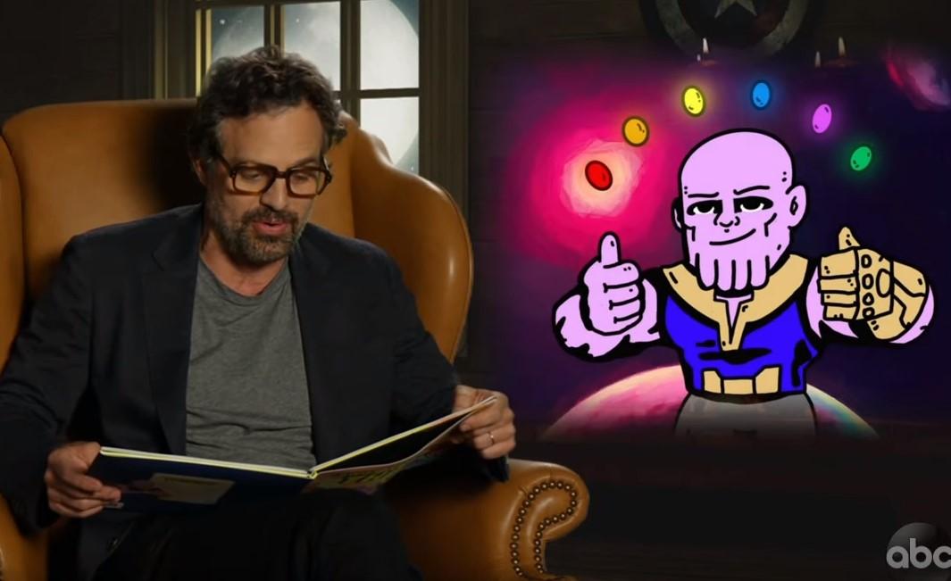 Avengers: Endgame Cast Thanos Book Jimmy Kimmel
