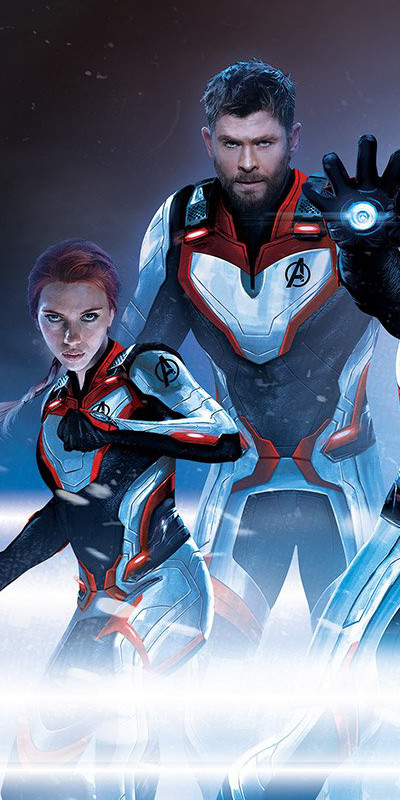Avengers Endgame Art Shows Off New Suits Cosmic Book News