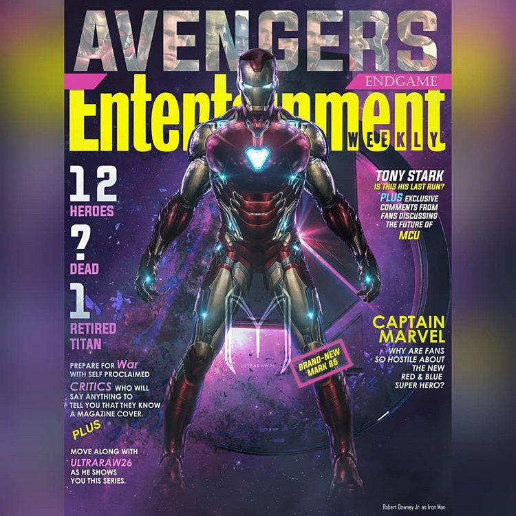 Avengers: Endgame on EW