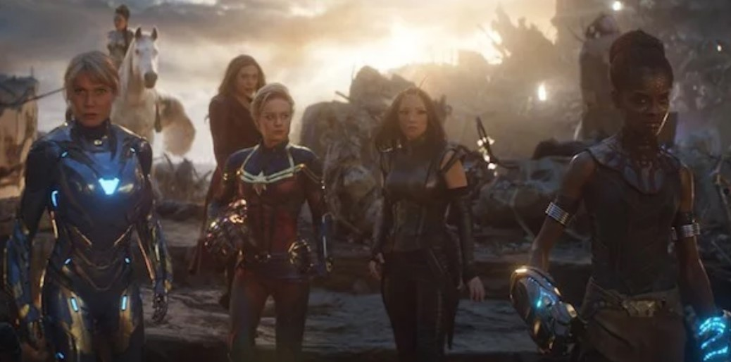 Marvel females Avengers Endgame