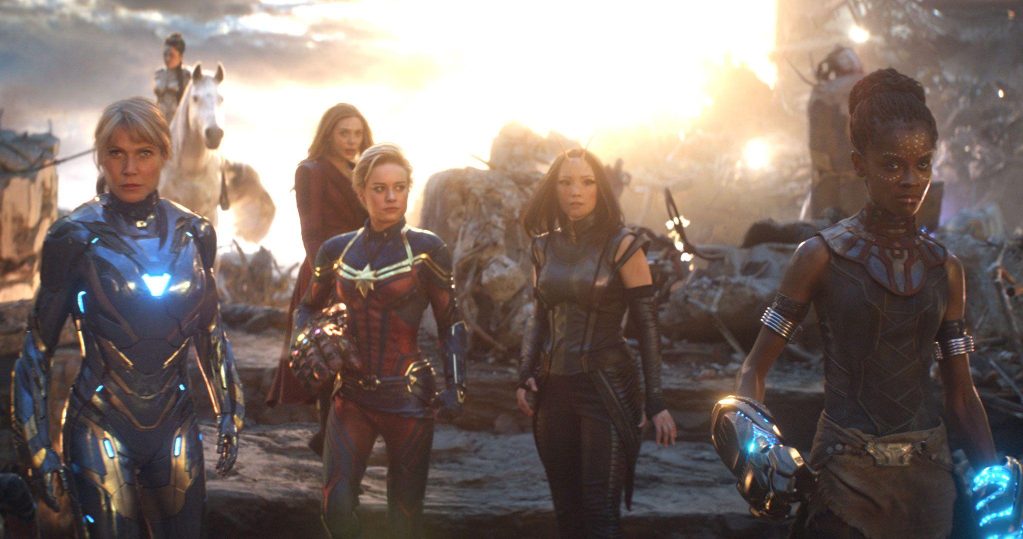 Captain Marvel Brie Larson Avengers Endgame