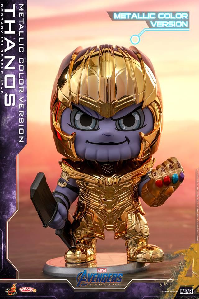 Avengers Endgame Iron Man And Thanos Hot Toys Revealed Cosmic