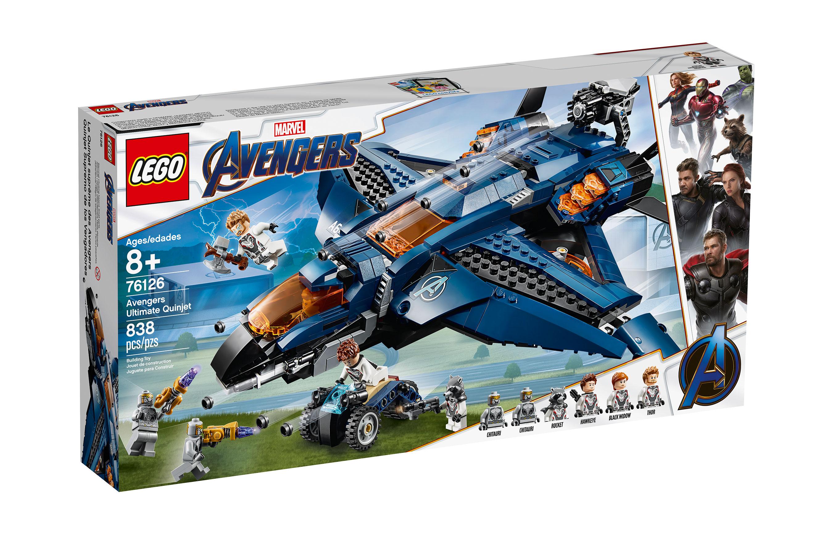 Avengers: Endgame LEGO Sets Revealed | Cosmic Book News