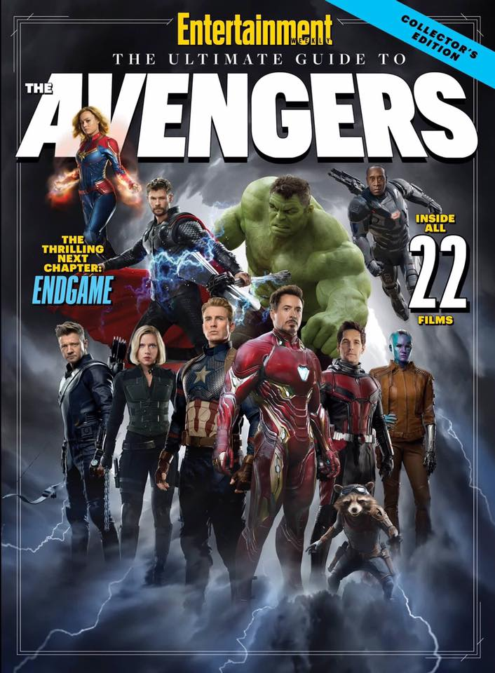 Avengers: Endgame Entertainment Weekly Covers and Images