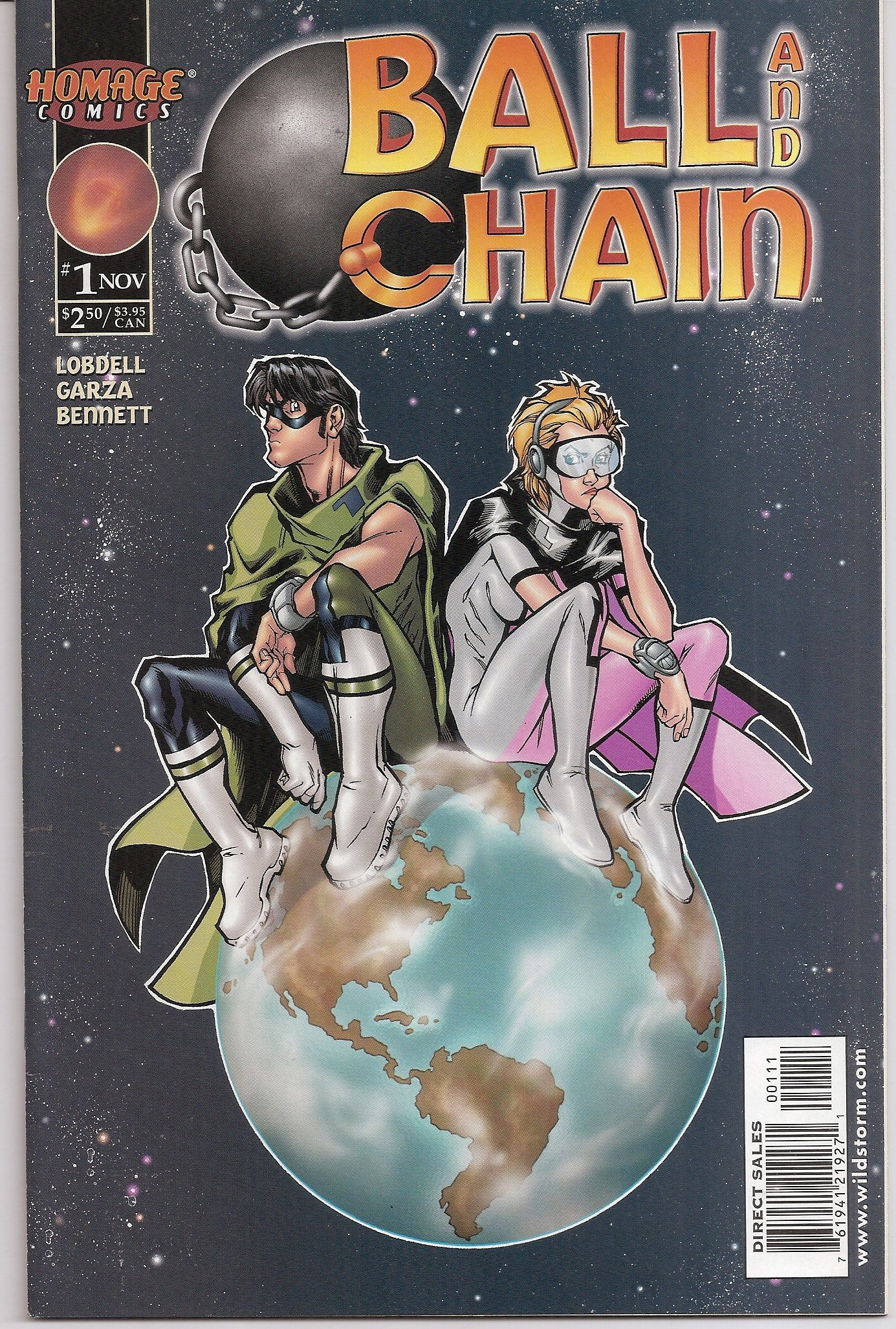 Ball and Chain comic book