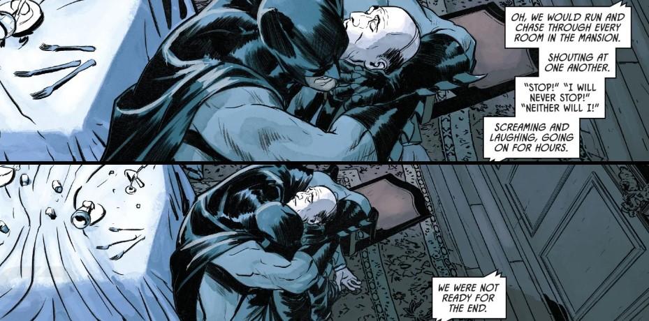 Batman Alfred Death