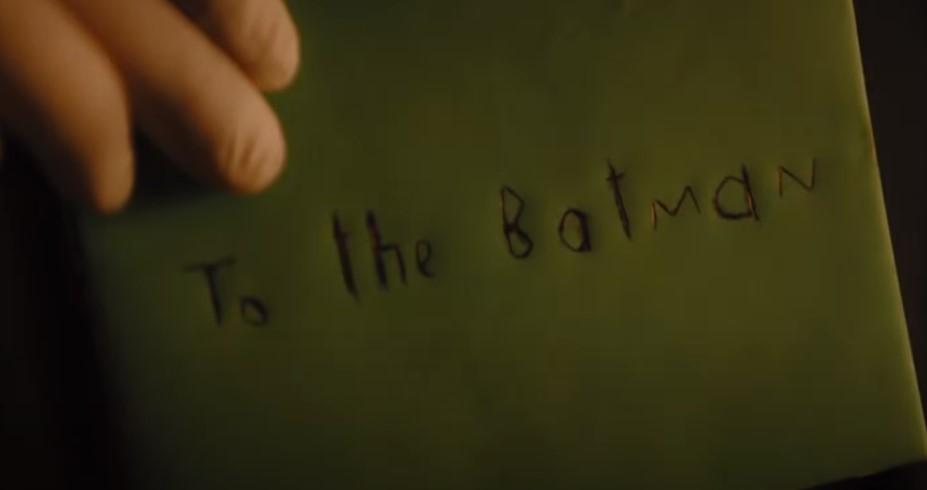 The Batman Riddler card