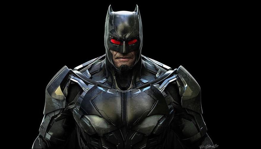 Batman concept art canceled video game