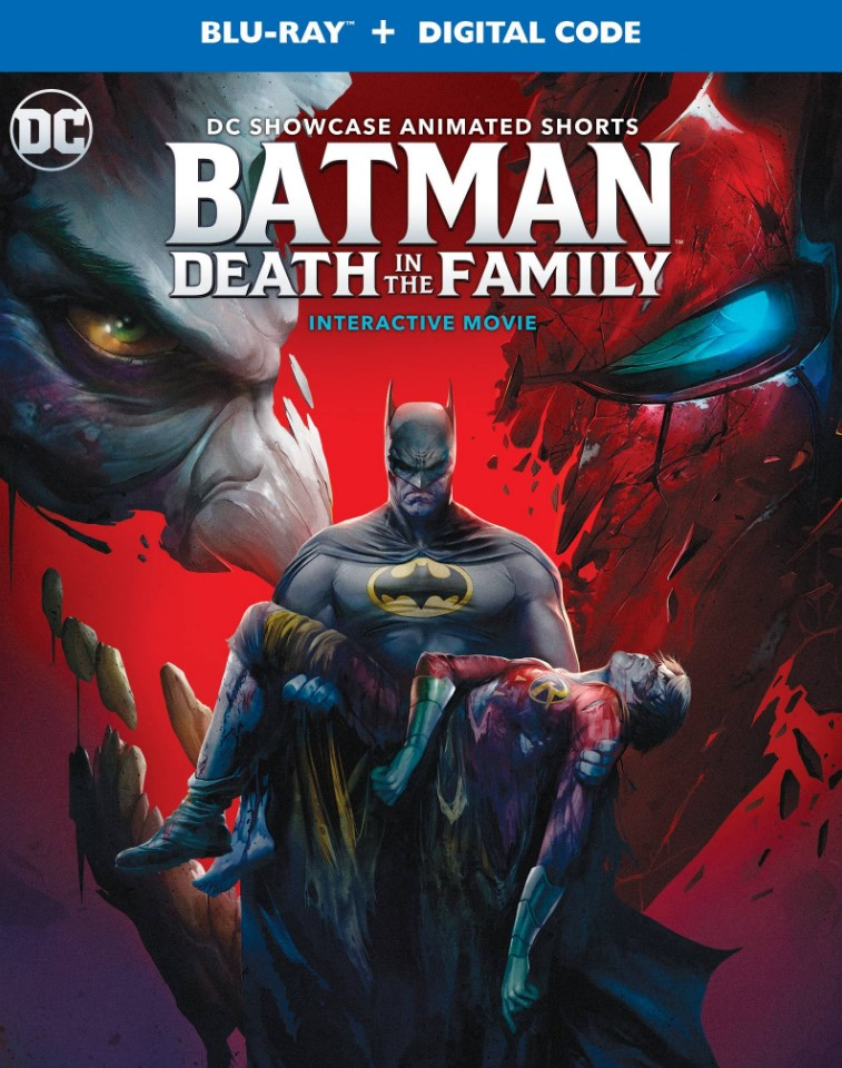 Batman Death in the Family box art