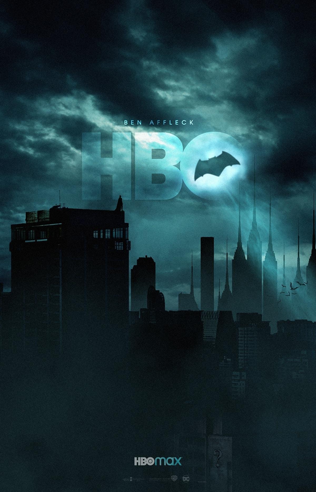 Batman Ben Affleck HBO max fan art
