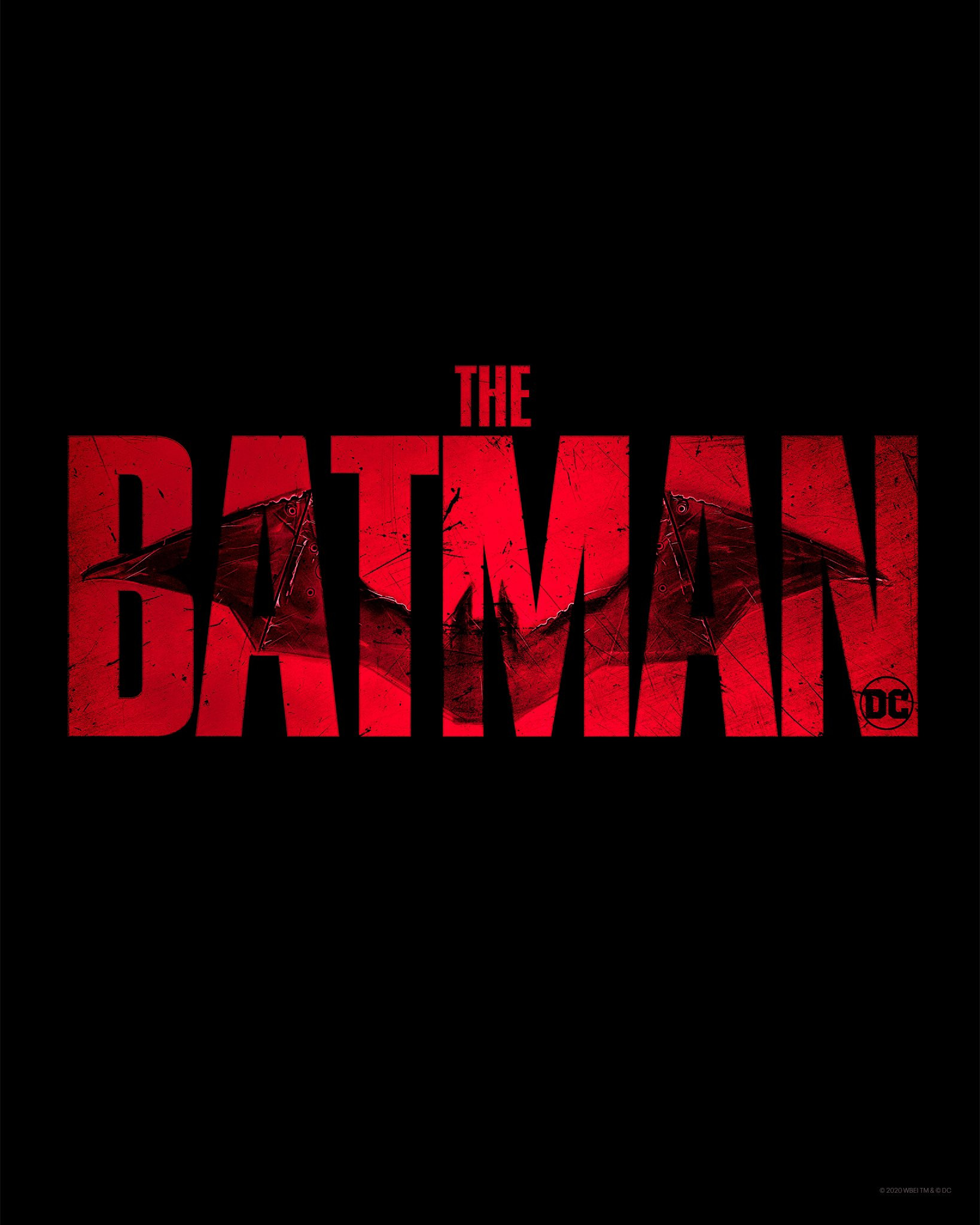 The Batman poster logo