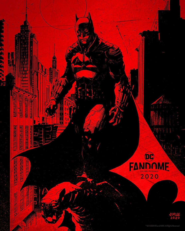 The Batman Robert Pattinson poster DC FanDome