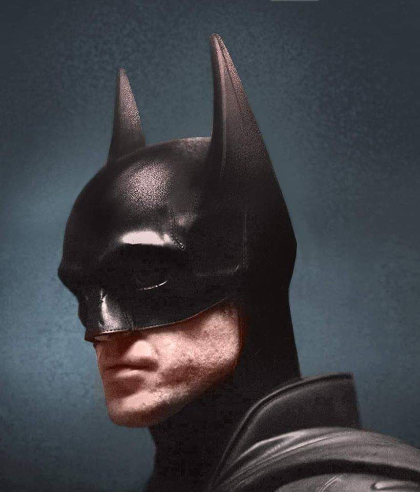 Batman Robert Pattinson Long Ears