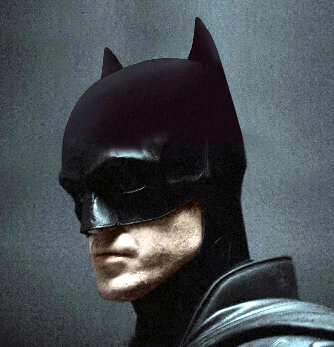Batman Robert Pattinson Short Ears