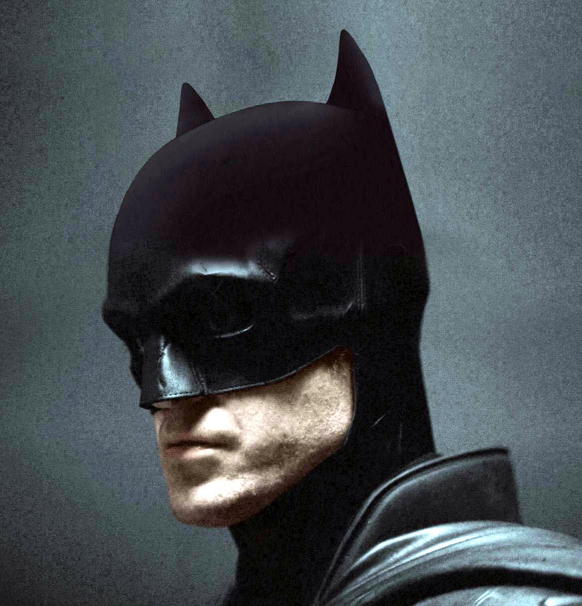 Batman Robert Pattinson Short Ears