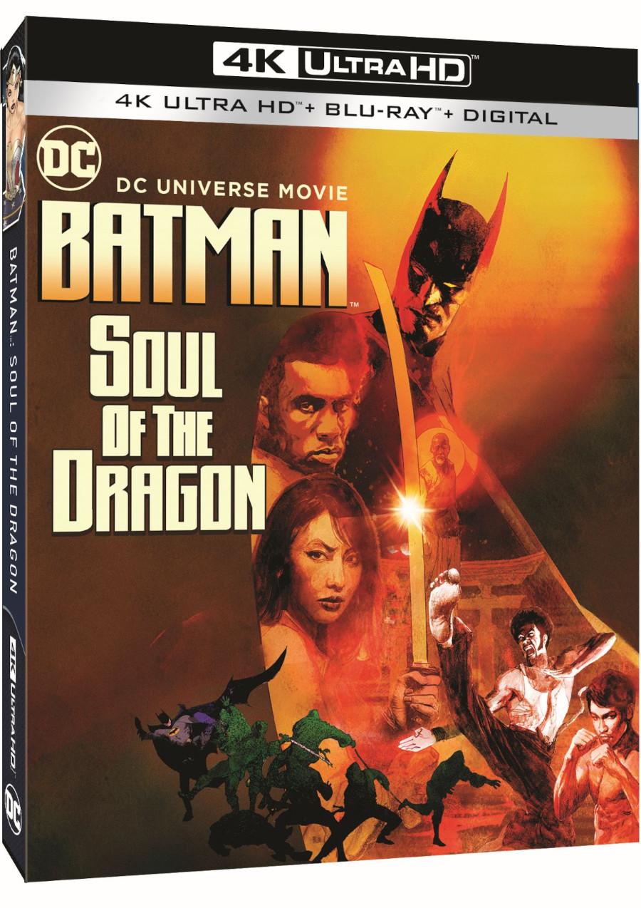 Batman: Soul of the Dragon box art