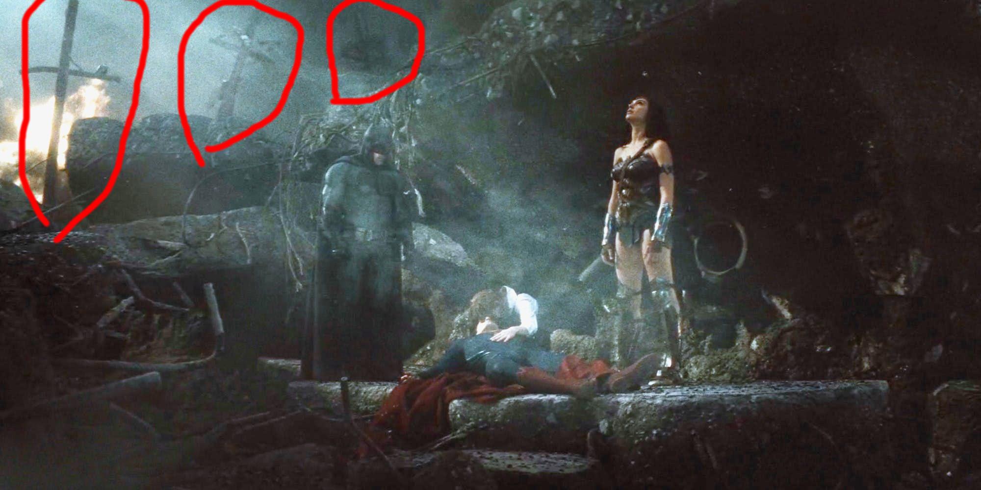 Batman vs Superman Crosses