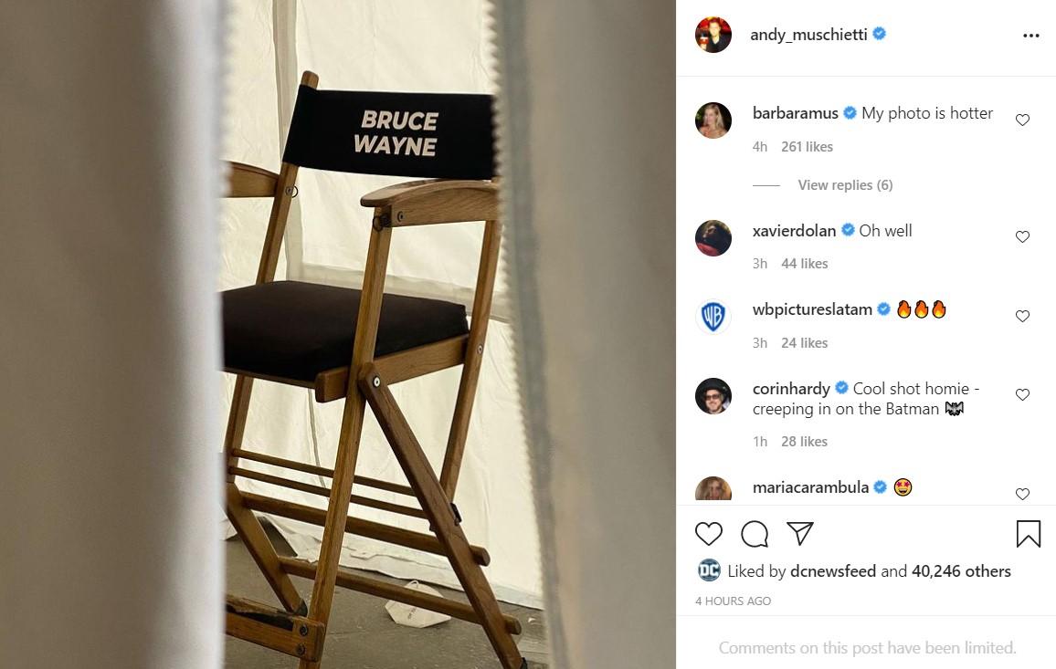 The Flash Ben Affleck Batman chair