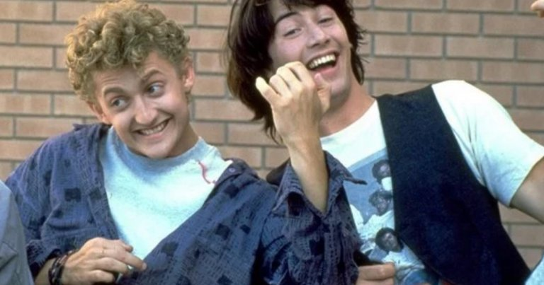 Keanu Reeves Alex Winter Bill and Ted