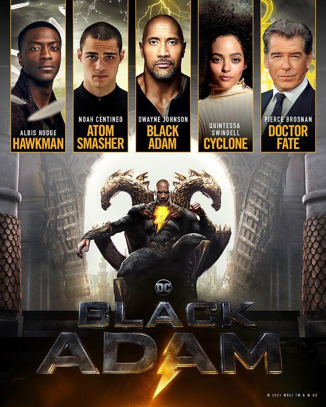 Black Adam Cast
