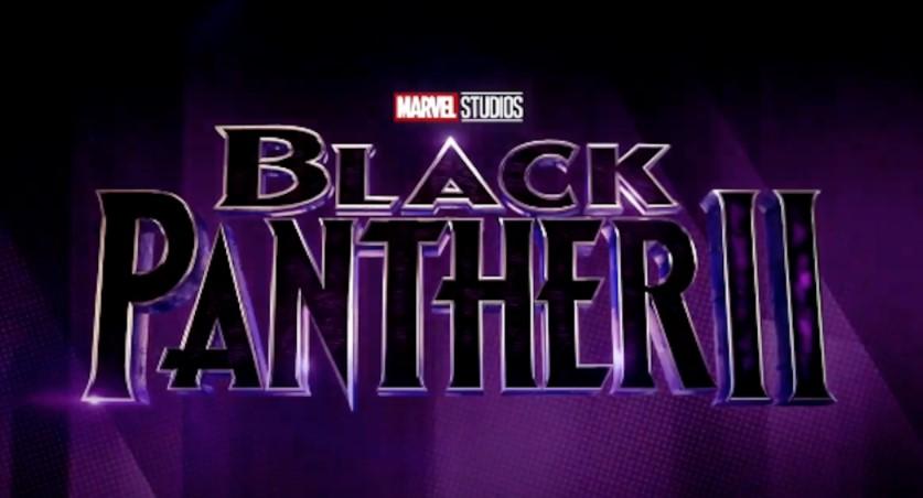 Black Panther 2 logo