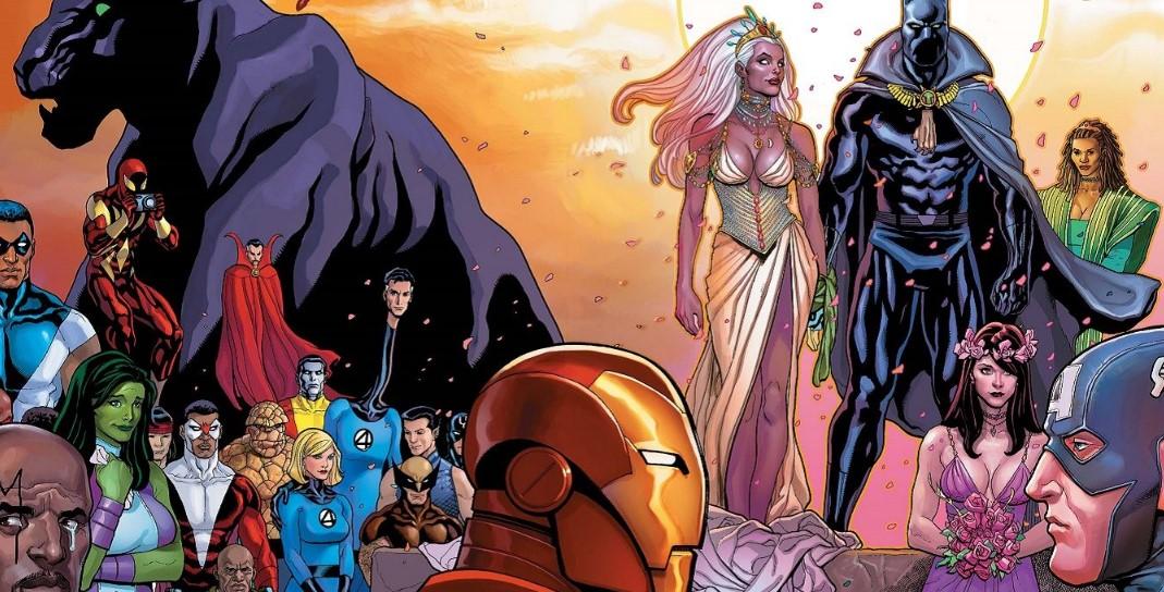 Black Panther Storm Marvel Comics
