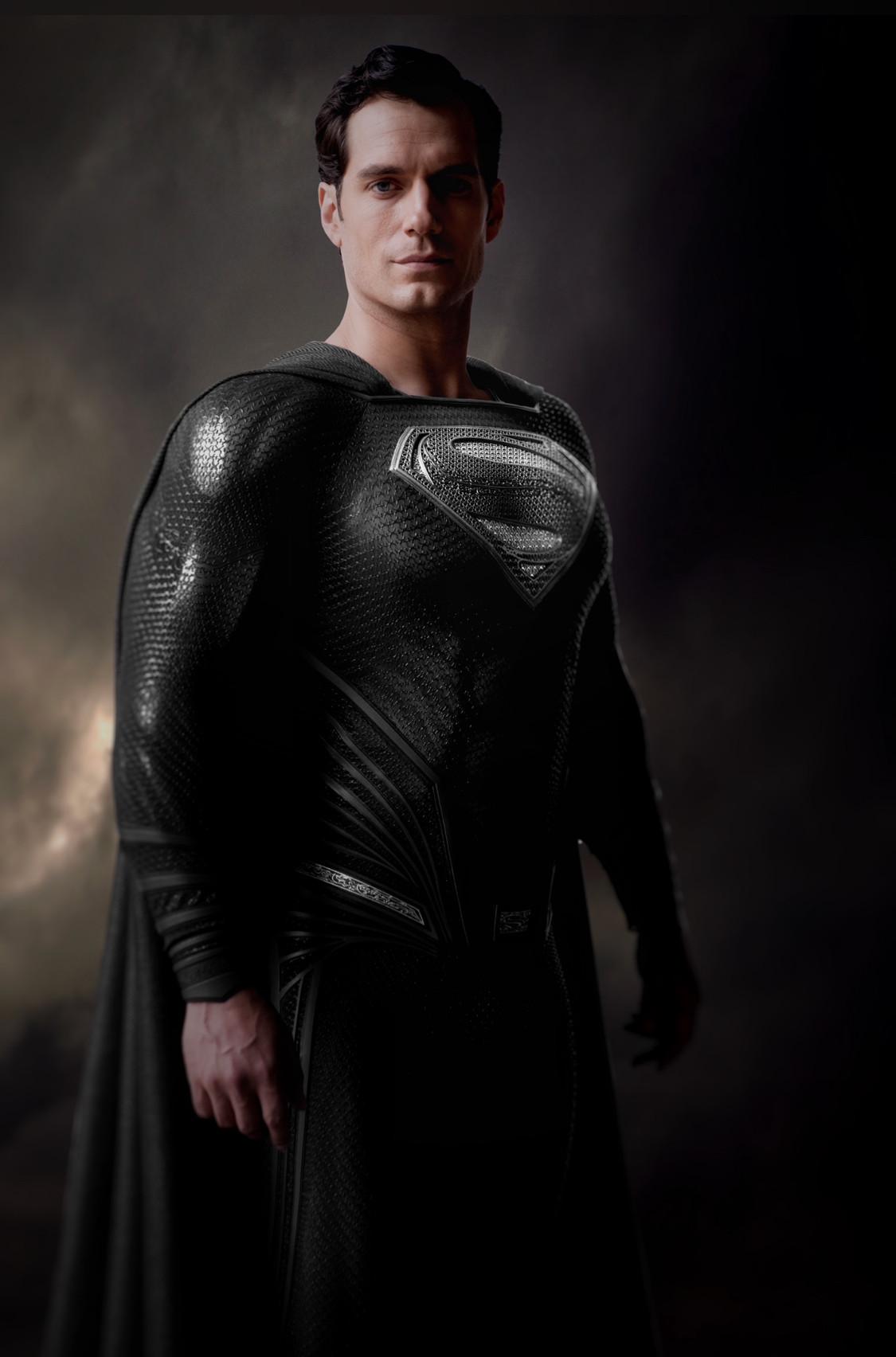 Black Suit Superman Henry Cavill Release The Sndyer Cut