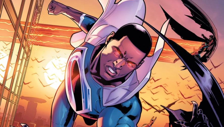 Black Superman Val-Zod DC Comics