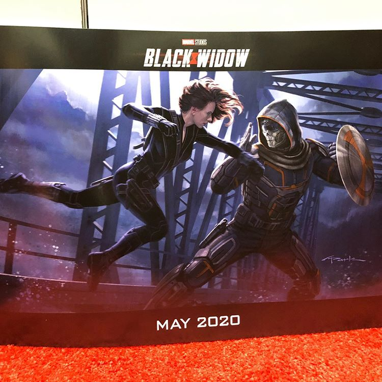 Black Widow concept art Taskmaster