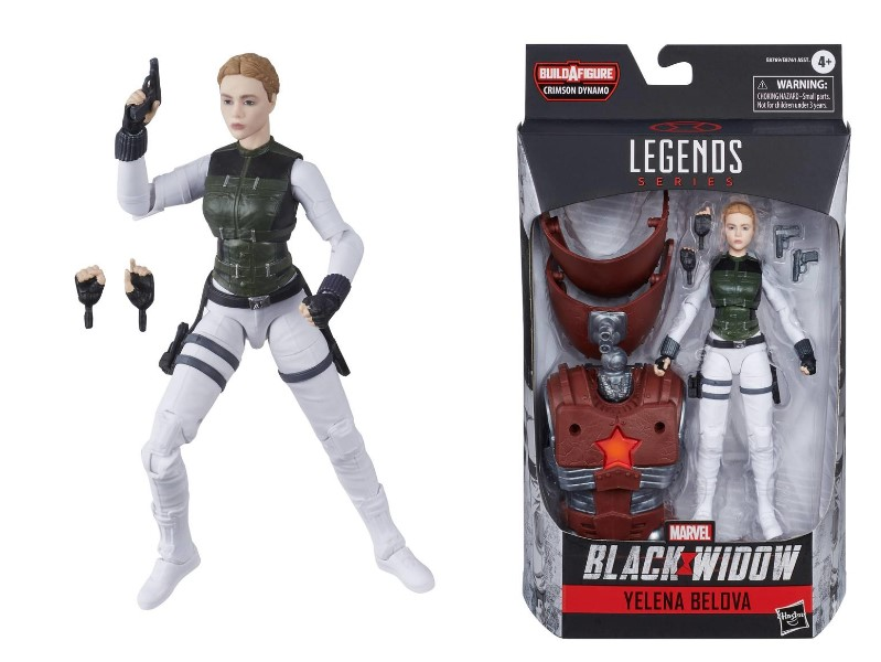 Black Widow Hasbro Yelena Belova