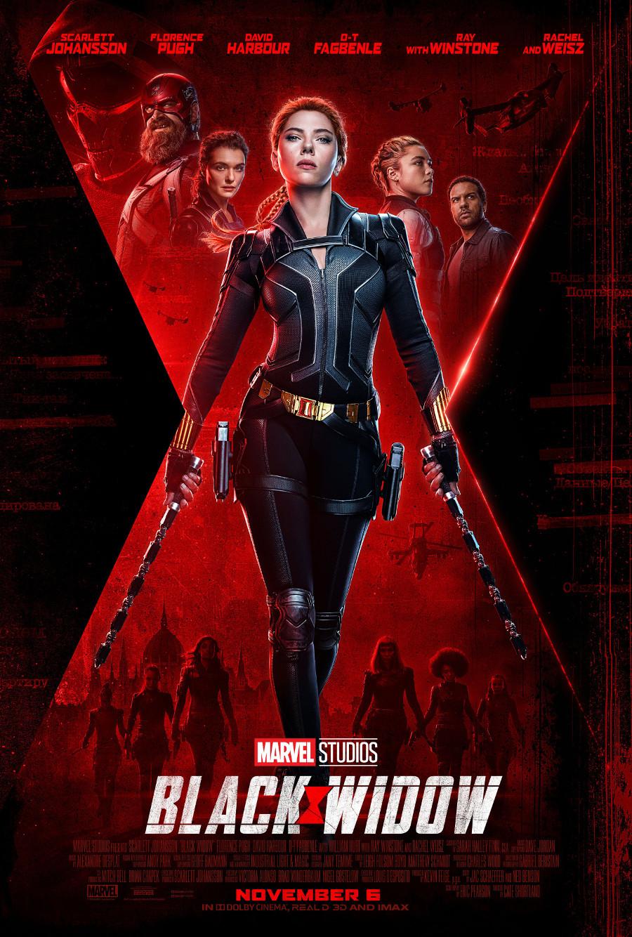 Black Widow Release Date Poster