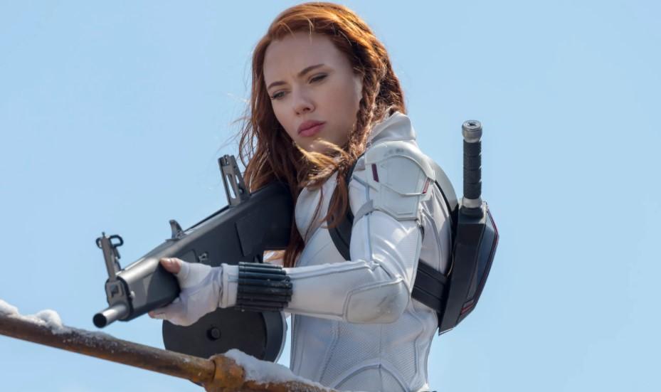 Black Widow Marvel Scarlett Johansson