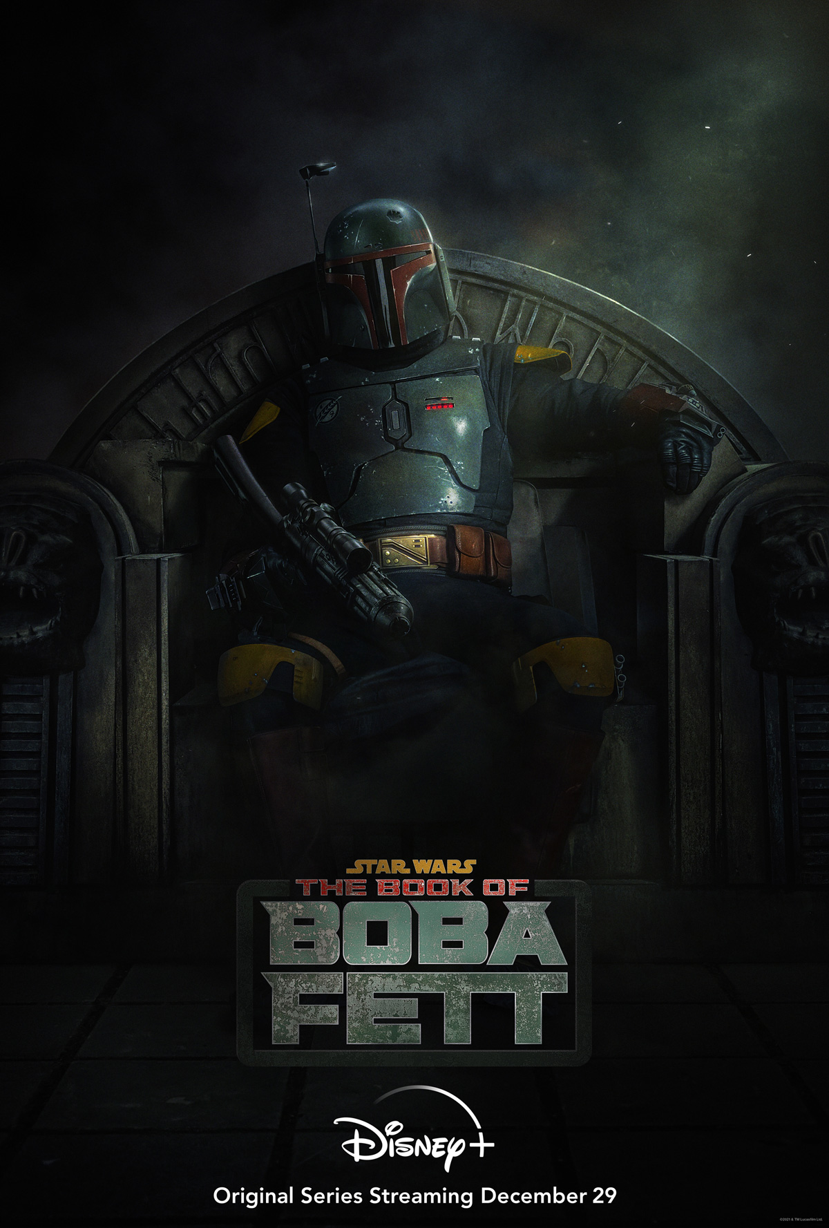 The Book Of Boba Fett Premiere Date Poster