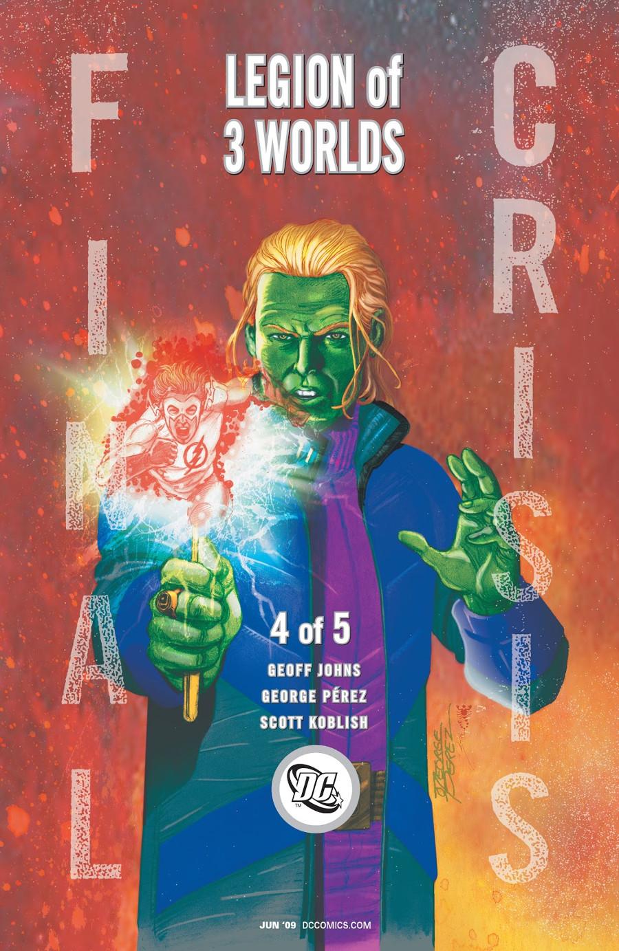 Brainiac-5 Final Crisis