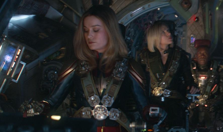 Brie Larson Avengers Endgame
