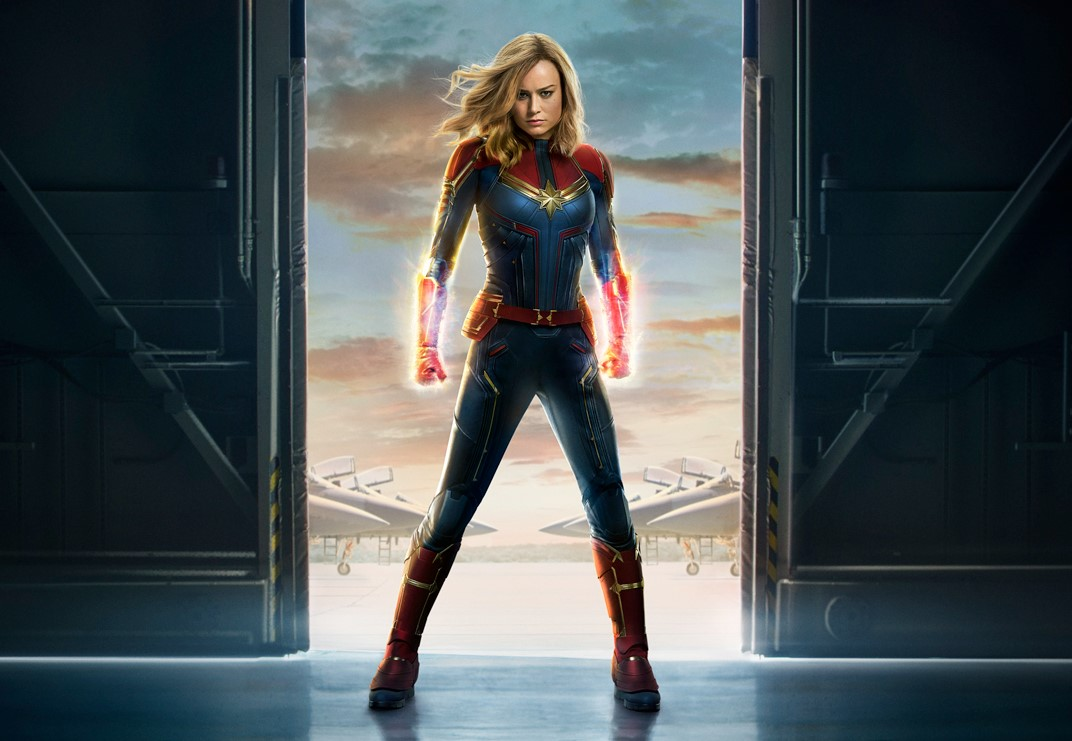 Captain Marvel's Brie Larson reportedly inks 7 movie deal with Marvel