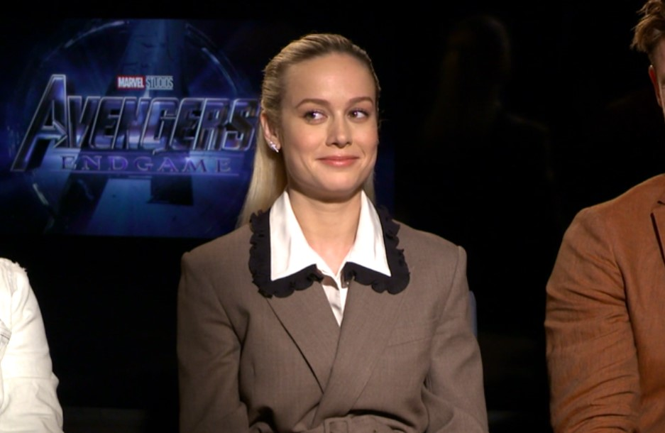 The Avengers: Endgame Brie Larson
