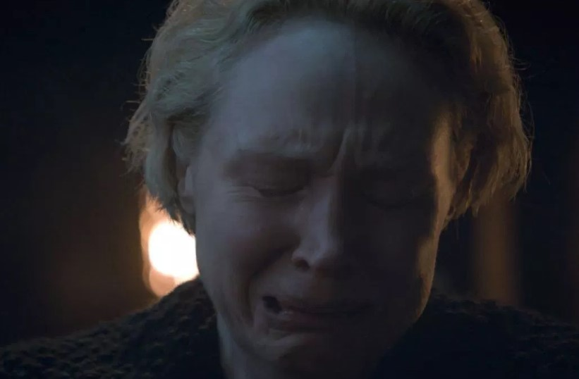 Brienne Crying Game of Thrones