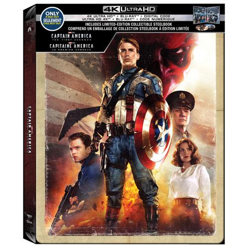 Captain America The First Avenger 4K