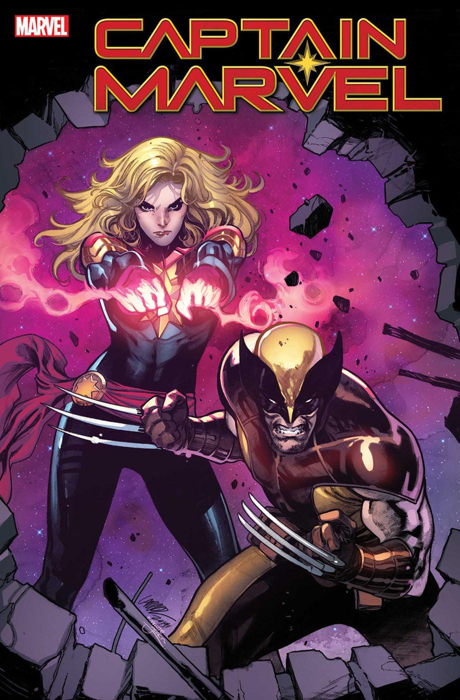 Captain Marvel Wolverine
